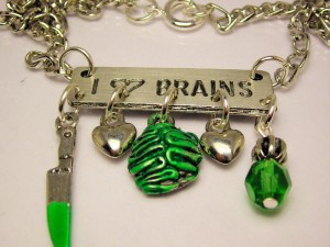 I Love Brains Zombie braaains that is Fast Free Shipping